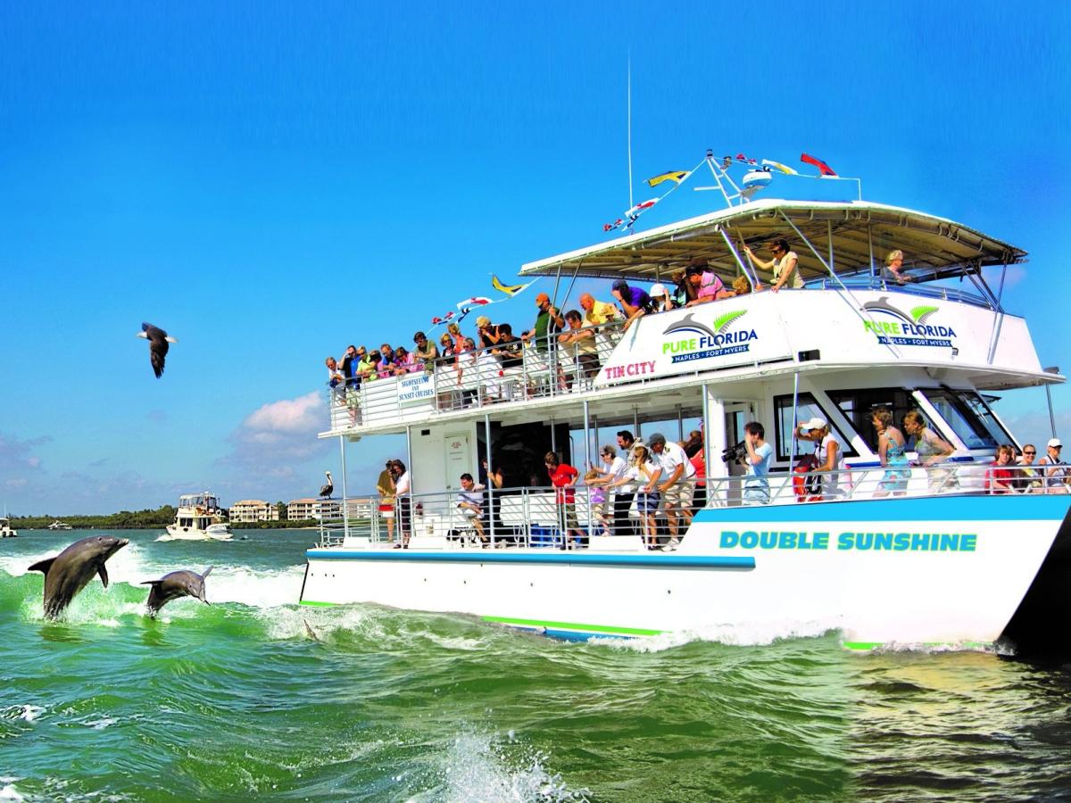 Sightseeing, River & Sunset Cruises on the M/V Double Sunshine!