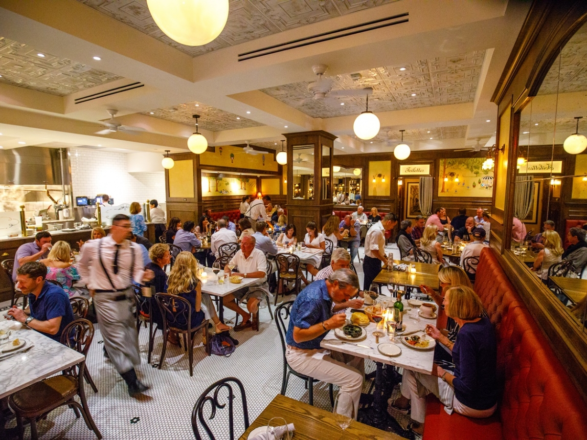 Enjoy the ambiance of The French on 5th Avenue South in Naples