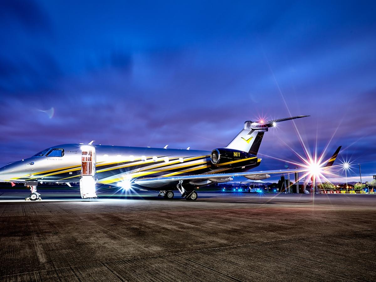Elite Jets Legacy 500