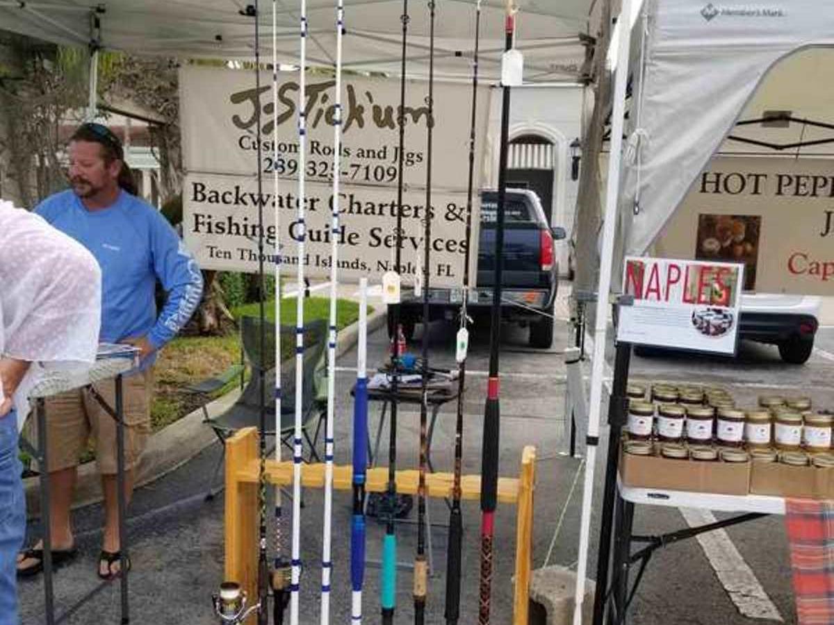 J-Stick'um Custom Rods & Jigs at Vanderbilt Farmers Market