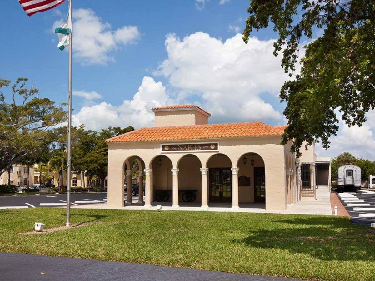 Visitor Center at Naples Depot Museum