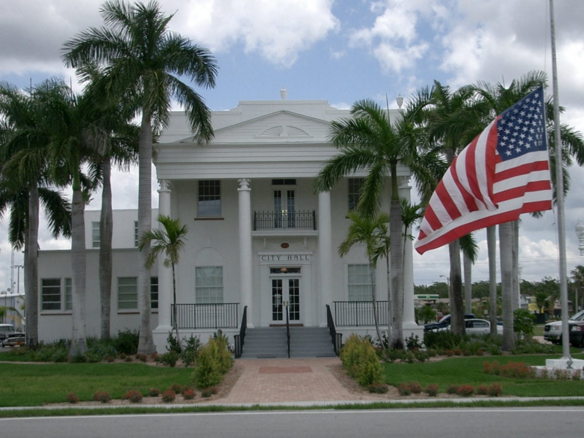 Everglades City Hall is the the former Old Collier County Courthouse