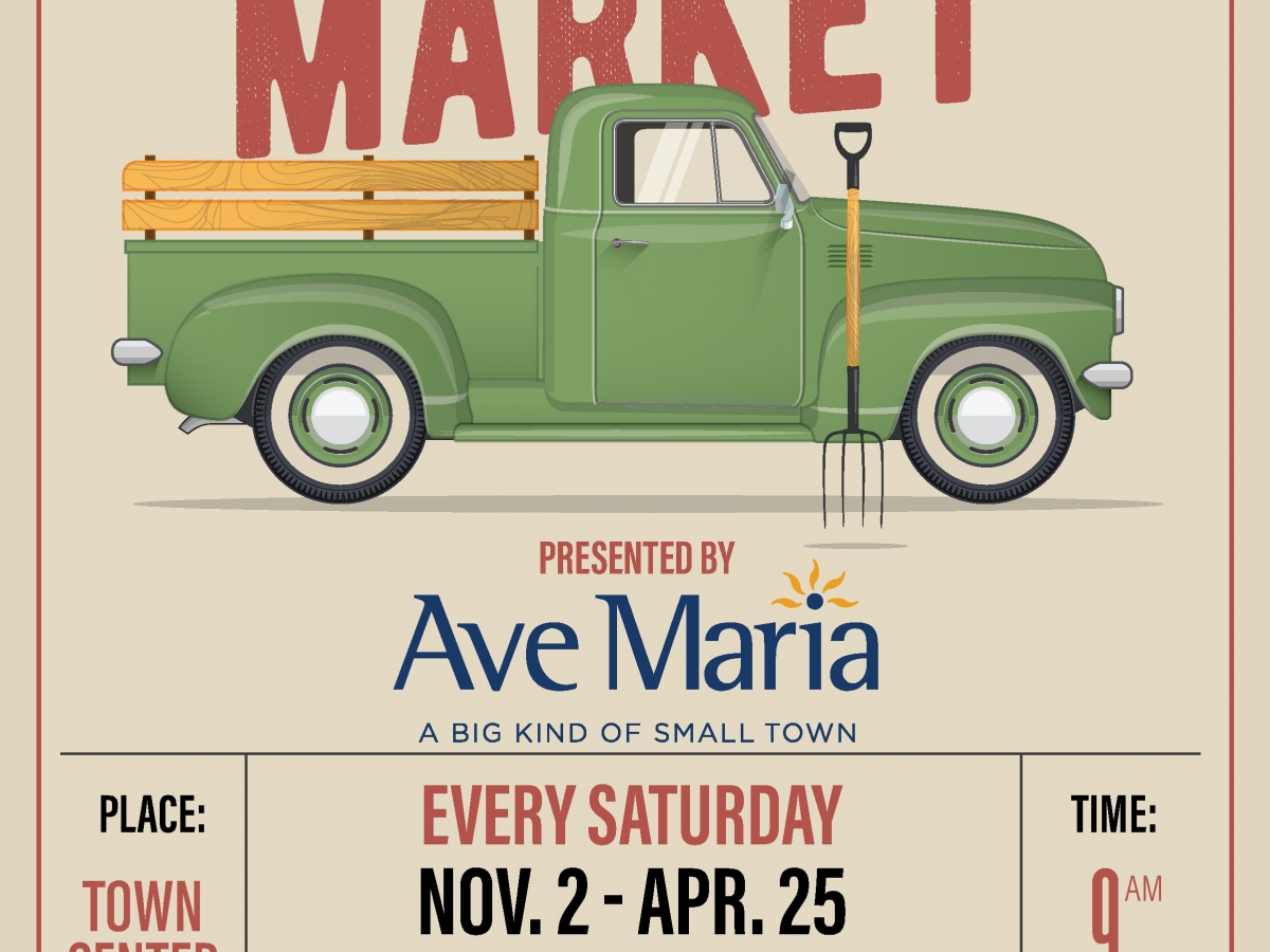 Farmers Market at Ave Maria's Town Center