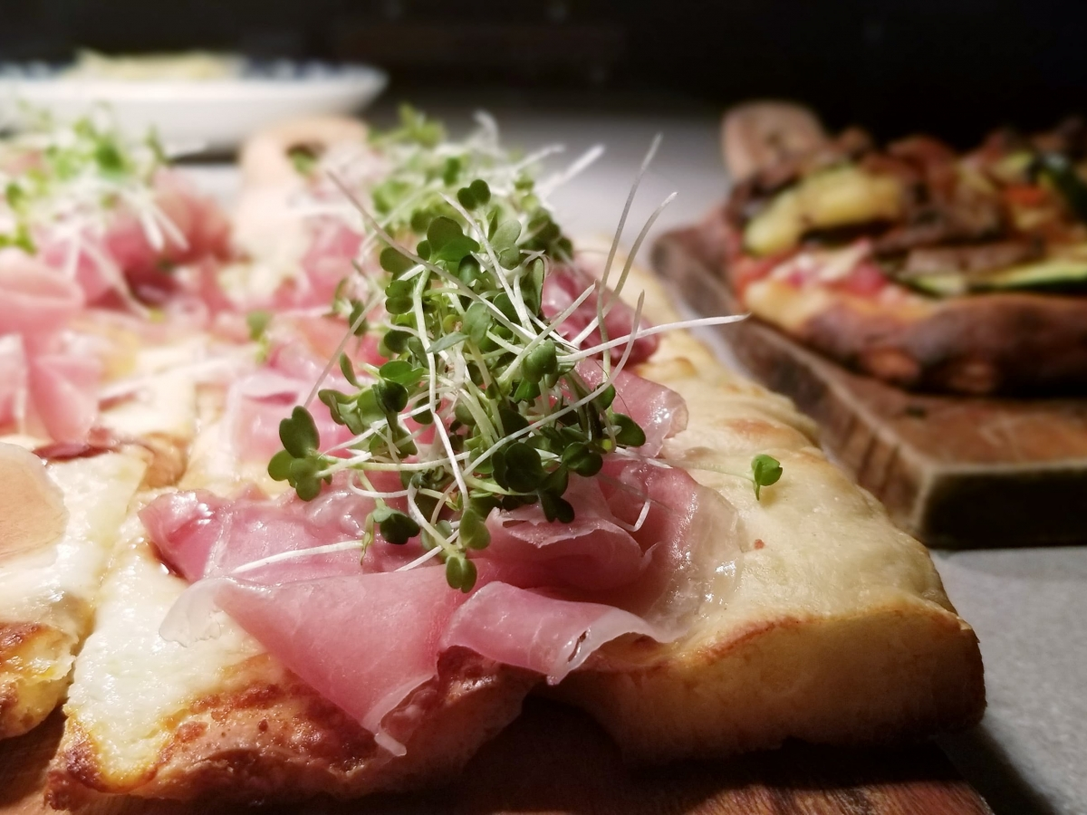 Pizza Romano Style