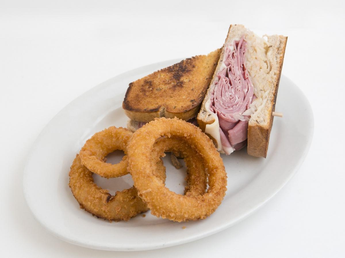 Reuben Sandwich Naples FL