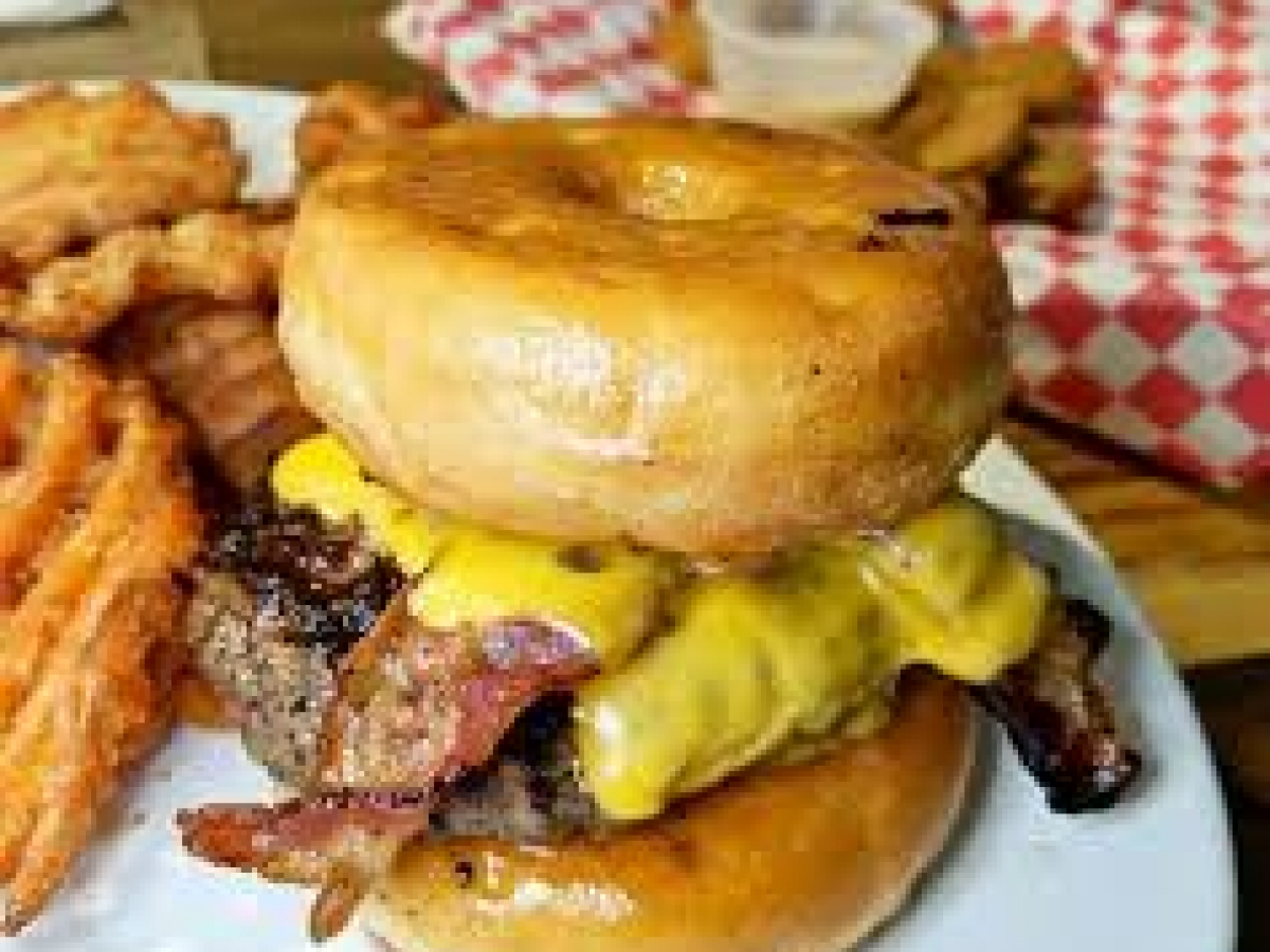 Donut Burger - Best Burgers in Naples FL