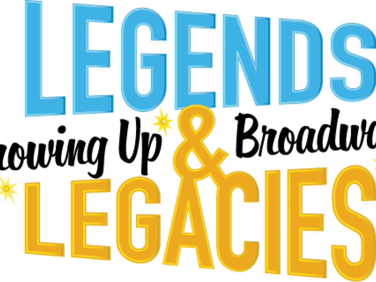 TheatreZone presents Legends & Legacies: Growing up Broadway, two special events in January and March 2020.