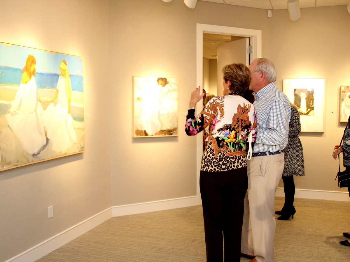 Richard Segalman solo exhibition at Harmon-Meek Gallery