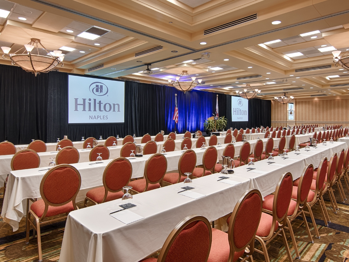 Hilton Naples Royal Palm Ballroom