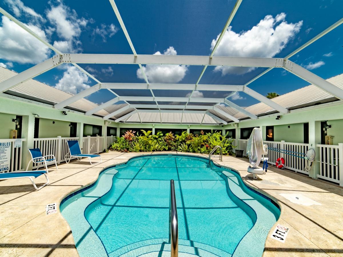 Screened In Pool