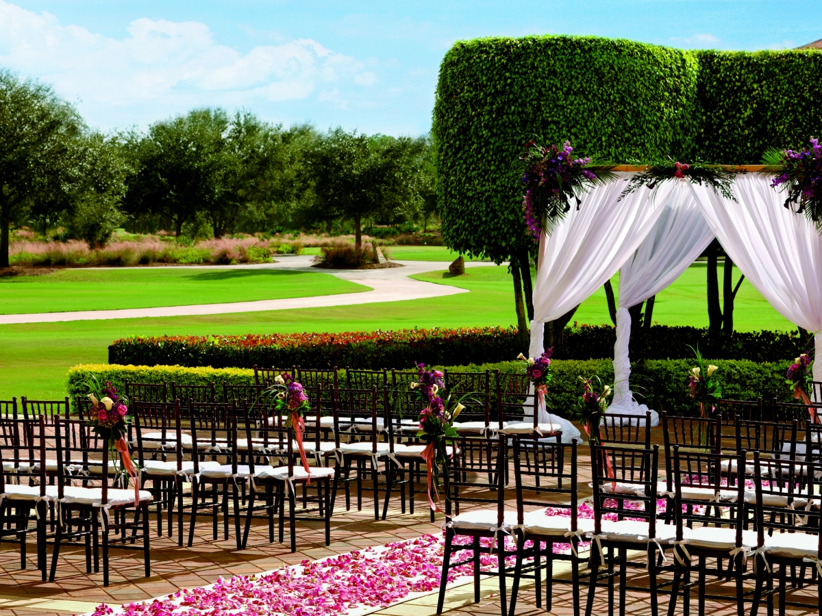 A dream wedding to remember in The Court of Palms